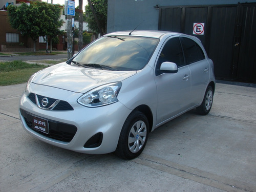nissan march 1.6 sense full año 2015 impecable!!