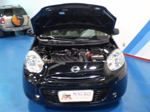 nissan march 1.6 sv 5p mauro automóveis