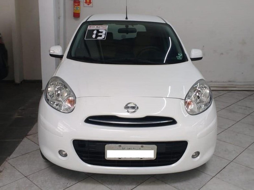 nissan march 1.6s completo 2013