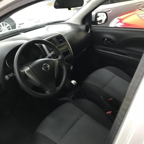 nissan march 2017 sv 1.0 - carro completo