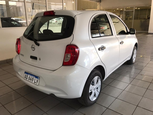 nissan march active pure drive 2019 blanco