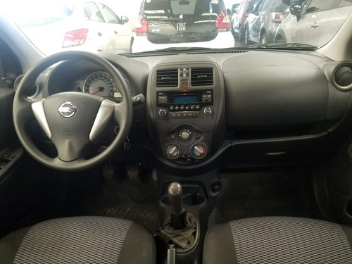 nissan march active pure drive impecable kms reales! (aes)