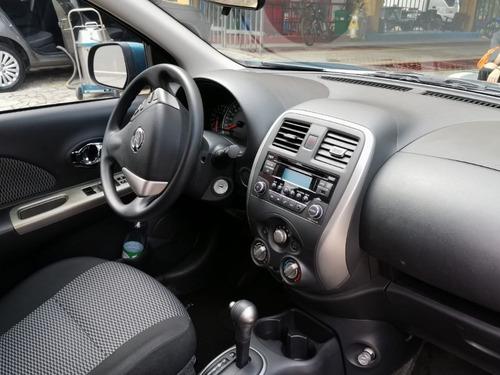 nissan march advance automatico 1600 modelo 2019