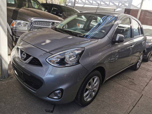 nissan march advance impecable 2015