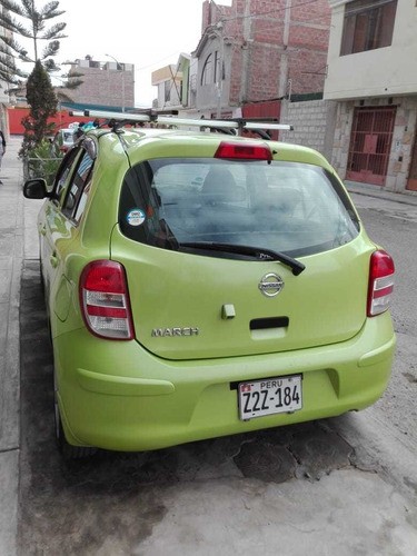 nissan march bien conservado