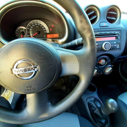 nissan march pure drive 2014 - 66.000km - 1.6n