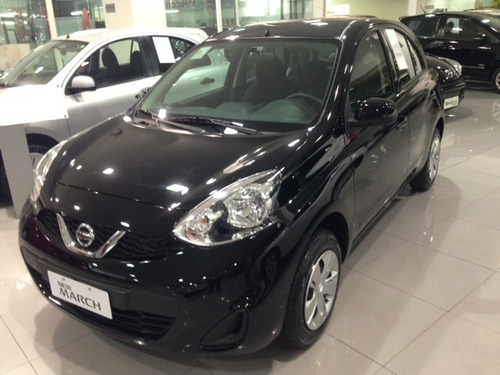 nissan march s 1.0 12v 3cc flex 5p hatch completo 0km2019