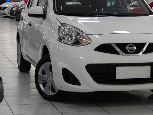nissan march s  1.0 completo 2017