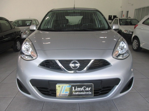 nissan march s completo entrada + 60 x 599,00 fixas