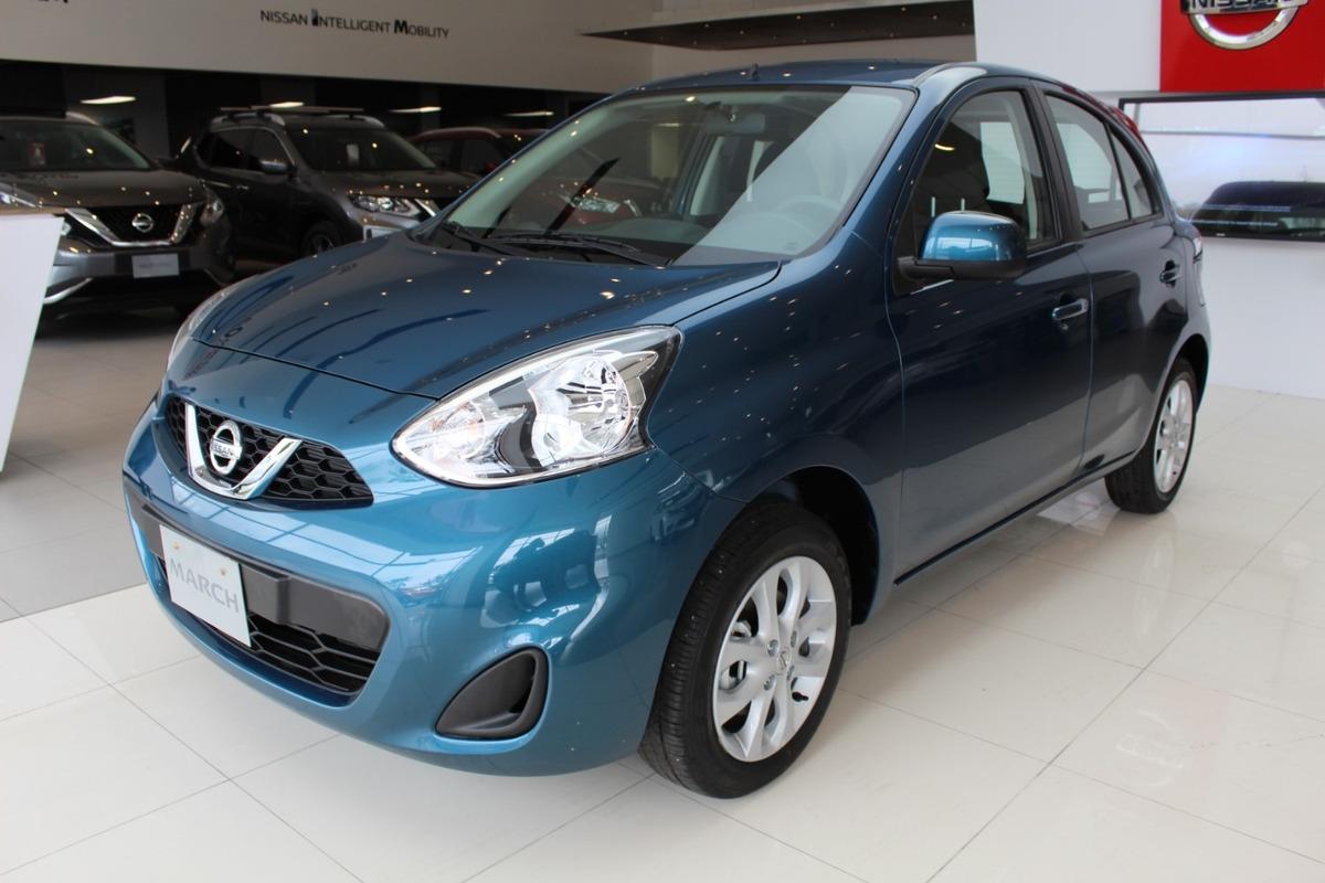 Nissan March Sense Motor 1 6 Modelo 2021 Azul 5 Puertas 48 990 000 En Mercado Libre