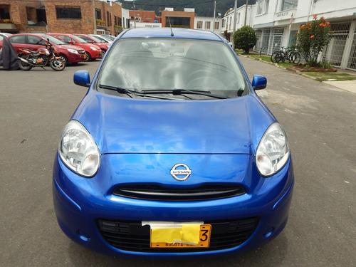 nissan march sense motor 1600 azul 5 puertas