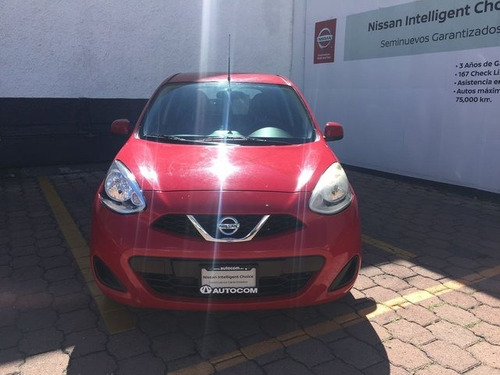 nissan march sense mt 2014 seminuevos