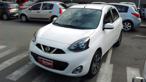 nissan march sl 1.6 16v cvt flexstart 2018/2018 8551