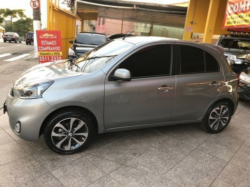 nissan march sl 1.6 16v flex, gbp0356