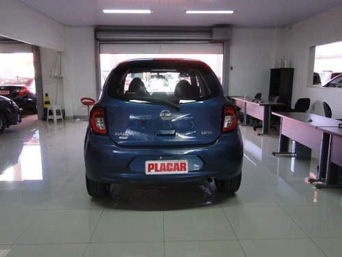 nissan march sl 1.6 16v flex, paz6271