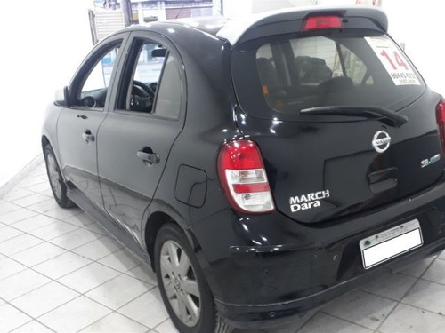 nissan march sr 1.6 16v flex, nis2014