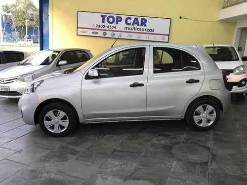 nissan march sv 1.0 - carro completo