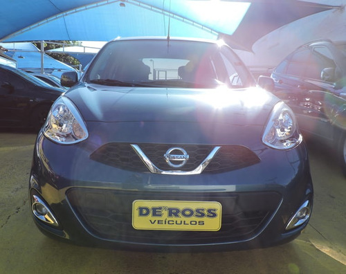 nissan march sv 1.6 16v flex fuel 5p 2016