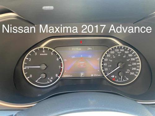 nissan maxima 2017 3.5 advance cvt
