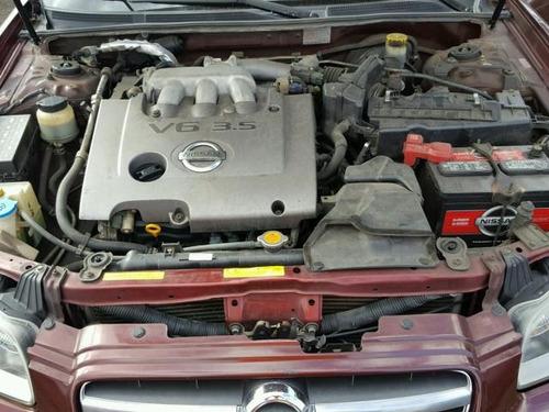 nissan maxima gle motor 3.5 00-03 yonkeado para partes