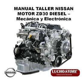 Nissan Motor Zd30 Diesel Manual Taller Mecanica Electronica