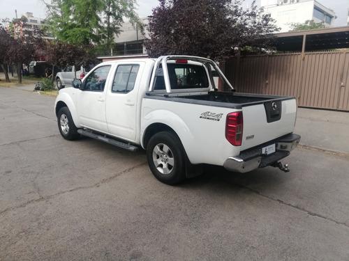 nissan navara le 4x4 dc año 2012 diesel