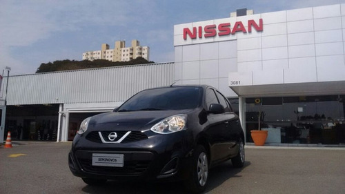 nissan new march s 1.0 12v flex 2015/2016 4716