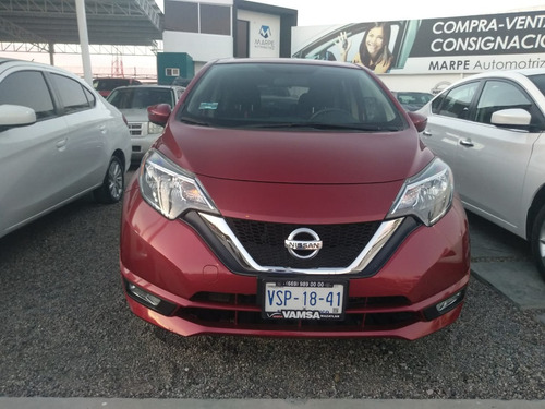 nissan note  2017 1.6 sr at cvt