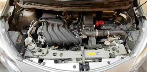nissan note exclusive cvt - chocado - motor enciende
