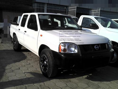 nissan np300 doble cabina pick-up 2014*hay credito