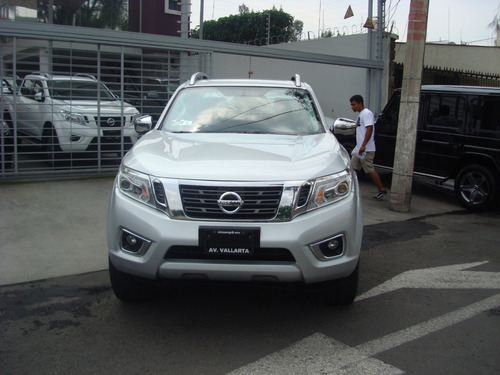 nissan np300 frontier 2.5 le diesel aa 4x4 at 2016 plata