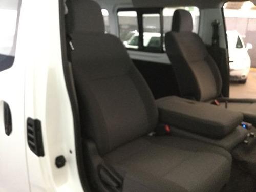 nissan nv350 urvan panel 4 ventanas amplia 2017