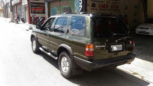 nissan pathfinder  1999 4 x 4 nova tudo funcionando ac. auto