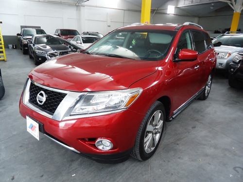 nissan pathfinder 3.5 exclusive awd 4x4 2014