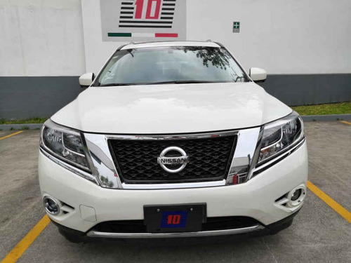 nissan pathfinder 5p exclusive v6/3.5 aut