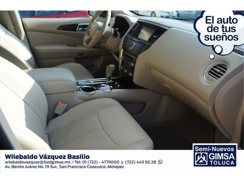 nissan pathfinder exclusive 2014 seminuevos