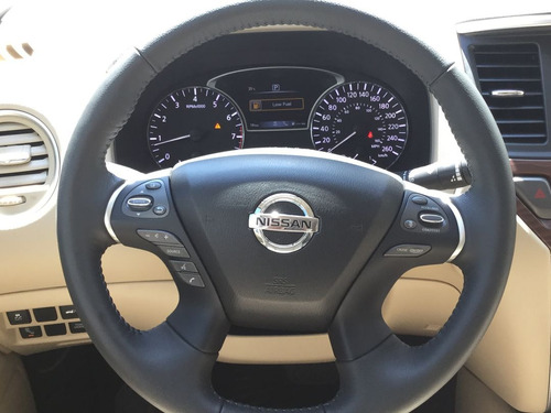 nissan pathfinder exclusive cvt 2017