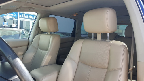 nissan pathfinder  exclusive cvt 2017 impecable! agencia