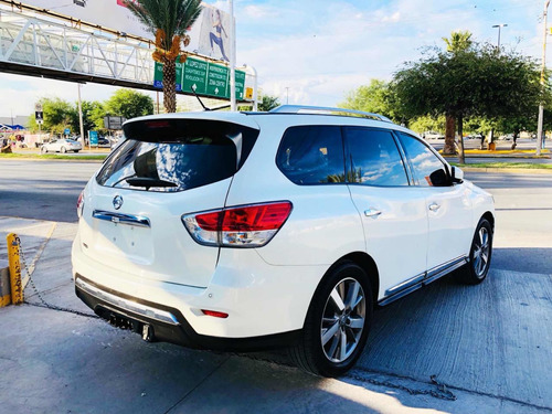 nissan pathfinder np exclusive 2016 blanco