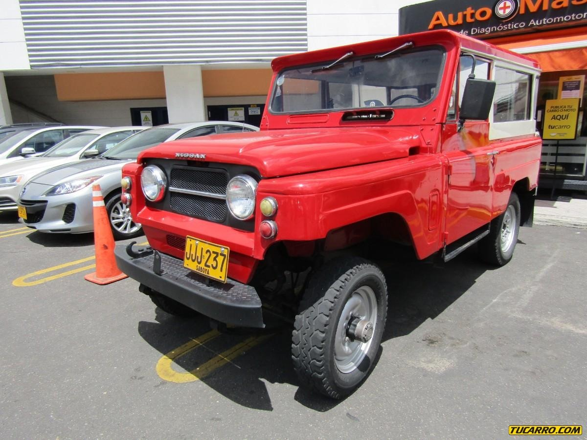 Tu Carro Com >> Nissan Patrol Lg60 4 0 Mt