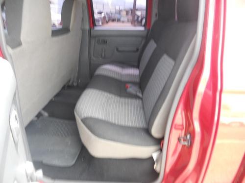 nissan pick-up 2010 rojo chasis cab tm dh