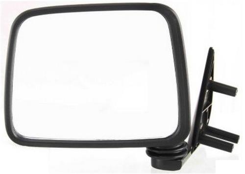 nissan pickup hardbody 1986 - 1997 espejo izquierdo negro