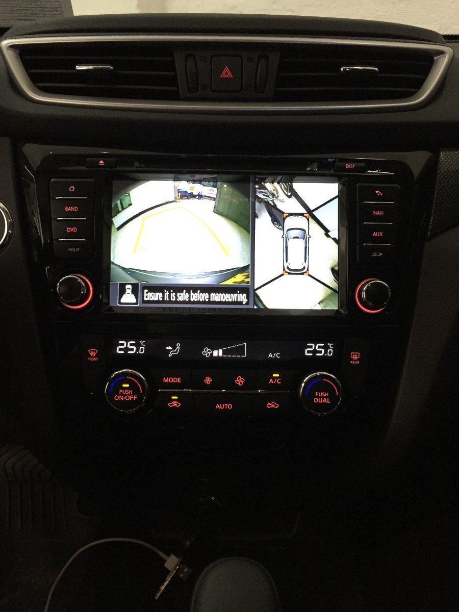 nissan qashqai 2015 dvd gps entrega inmediata en mercado libre. Black Bedroom Furniture Sets. Home Design Ideas