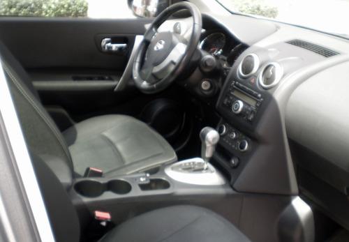 nissan qashqai, motor 2.0, 2013 color plata 5 puertas