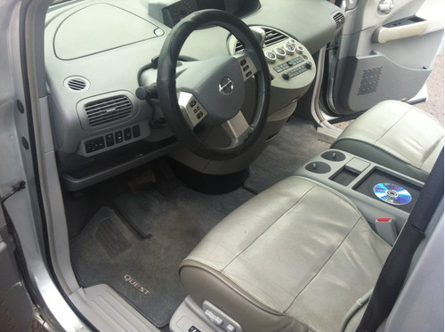 nissan quest 3.5 sl piel special edition at
