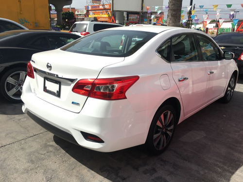 nissan sentra 1.8 exclusive at cvt 2017