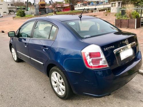 nissan sentra 2.0 b16 2010 unico dueño azul 6 velocidades
