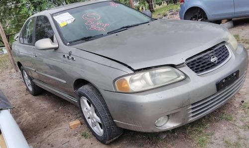 nissan sentra 2001 ( en partes ) 2000 - 2003 motor 2.0 aut