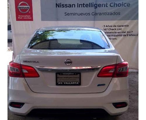nissan sentra 2017 4p sense l4/1.8 aut