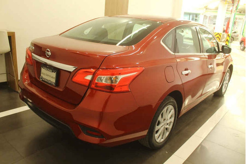 nissan sentra 2018 4p advance l4/1.8 man